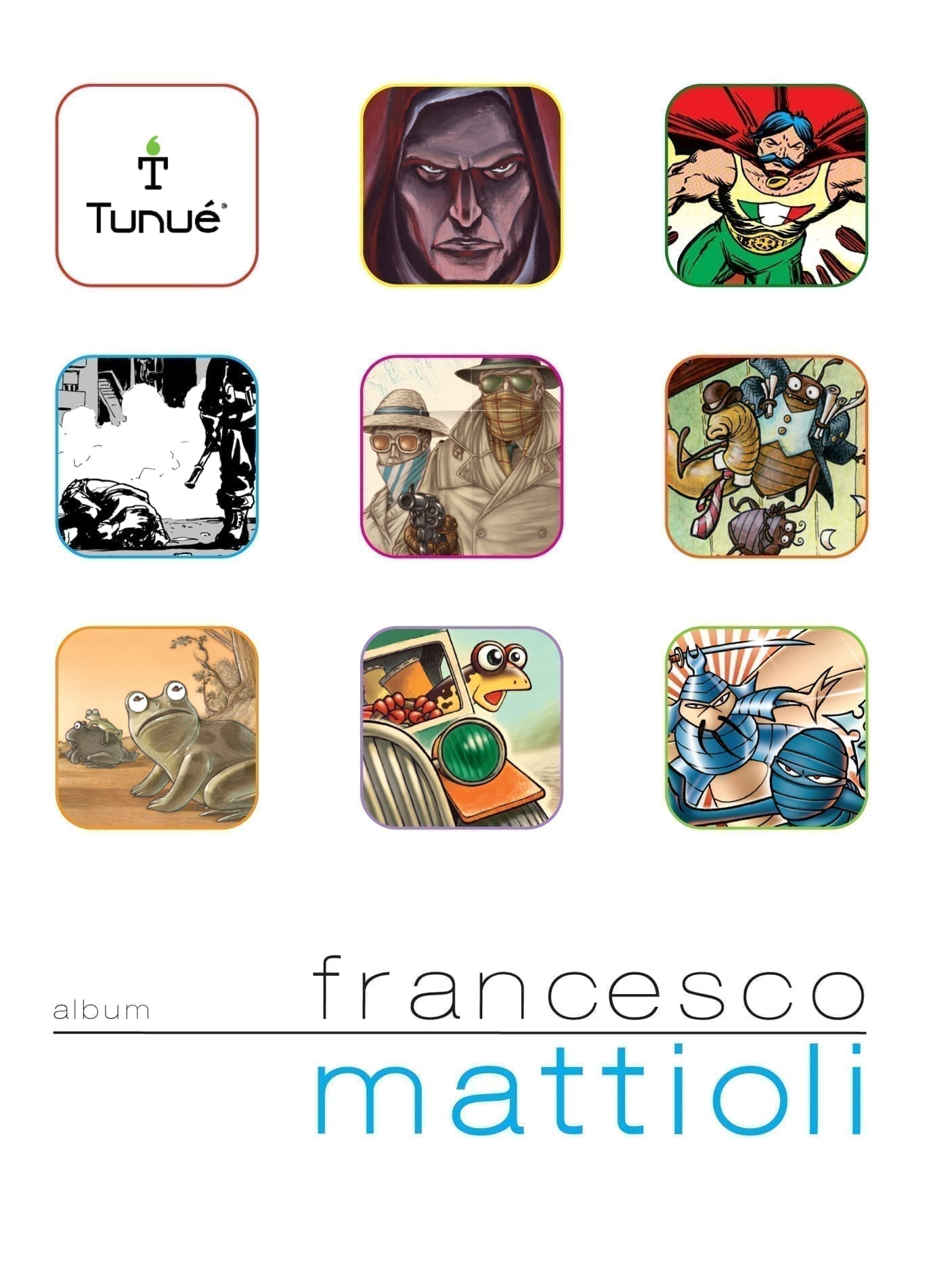 Album 4 – Francesco Mattioli 978-88-89613-61-0