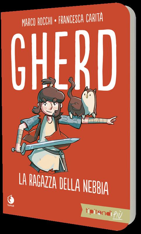 Gherd di Marco Rocchi e Francesca Carità graphic novel edizione tascabile
