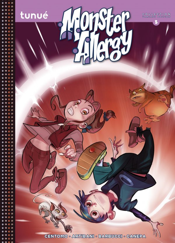 Monster Allergy Collection 3 Variant Edition