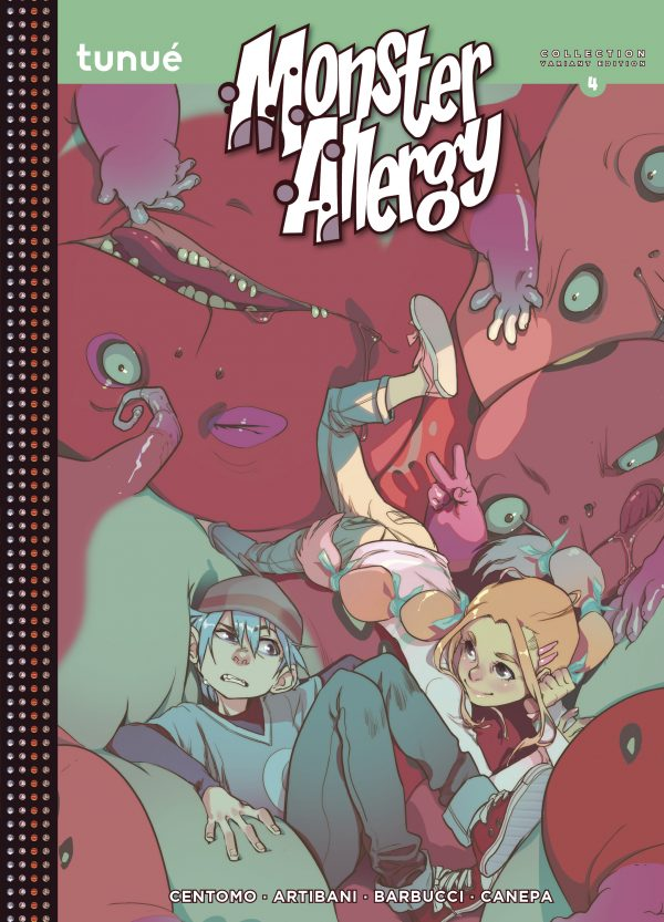 Monster Allergy Collection 4 Variant Edition