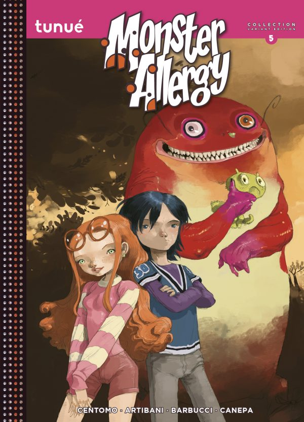 Monster Allergy Collection 5 Variant Edition