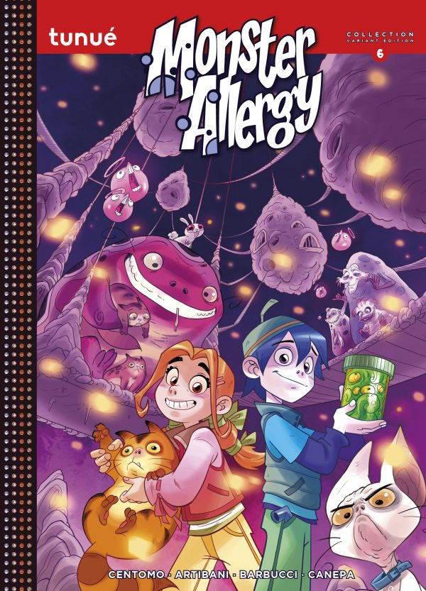Monster Allergy Collection 6 Variant Edition