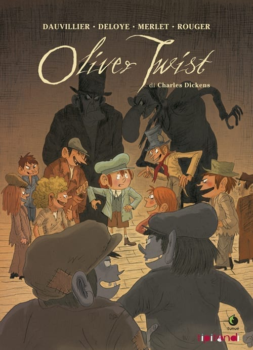 Oliver Twist i graphic novel in cofanetto