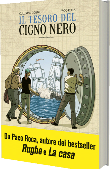 Il tesoro del cigno nero di Guillermo Corral e Paco Roca
