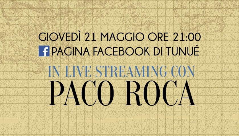 Diretta facebook con Paco Roca