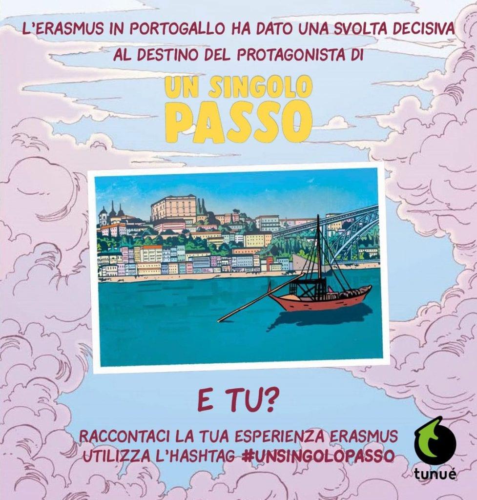 #unsingolopasso Erasmus graphic novel Contest