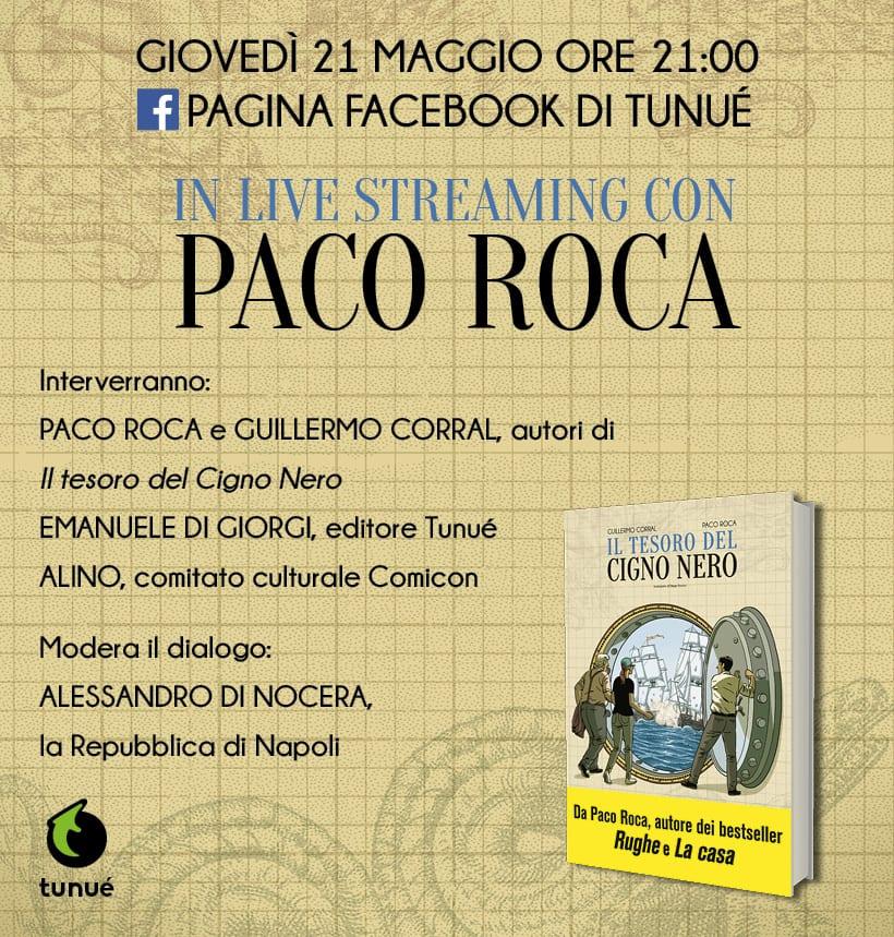 Paco Roca e Il tesoro del Cigno Nero