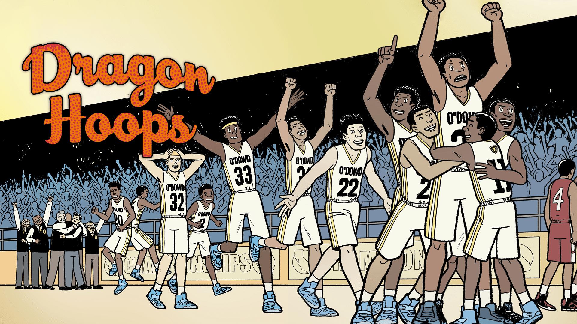 Dragon Hoops di Gene Luen Yang la storia del basket