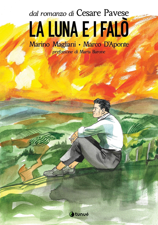 Copertina del graphic novel La luna e i falò di Cesare Pavese