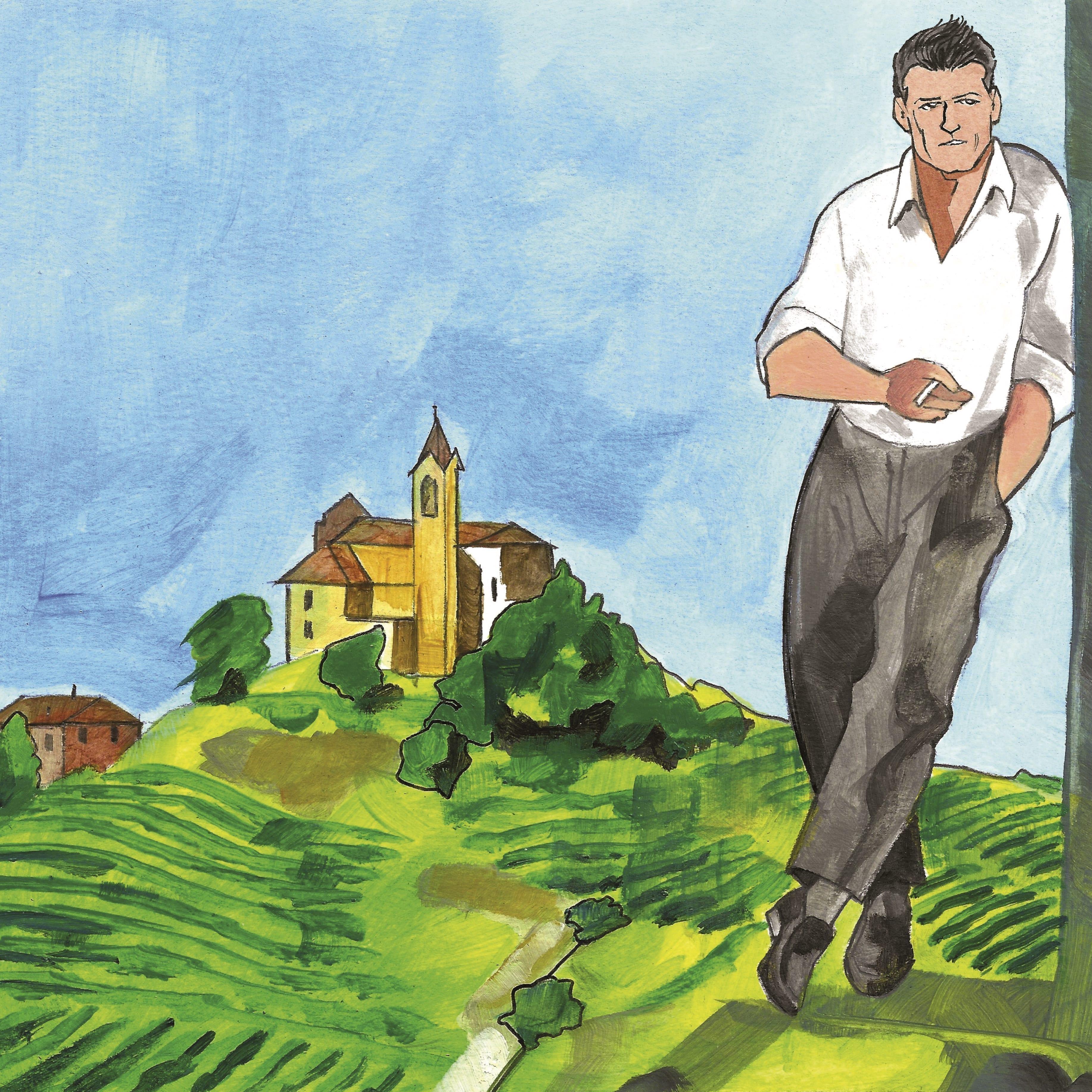 La luna e i falò di Cesare Pavese adattamento in graphic novel