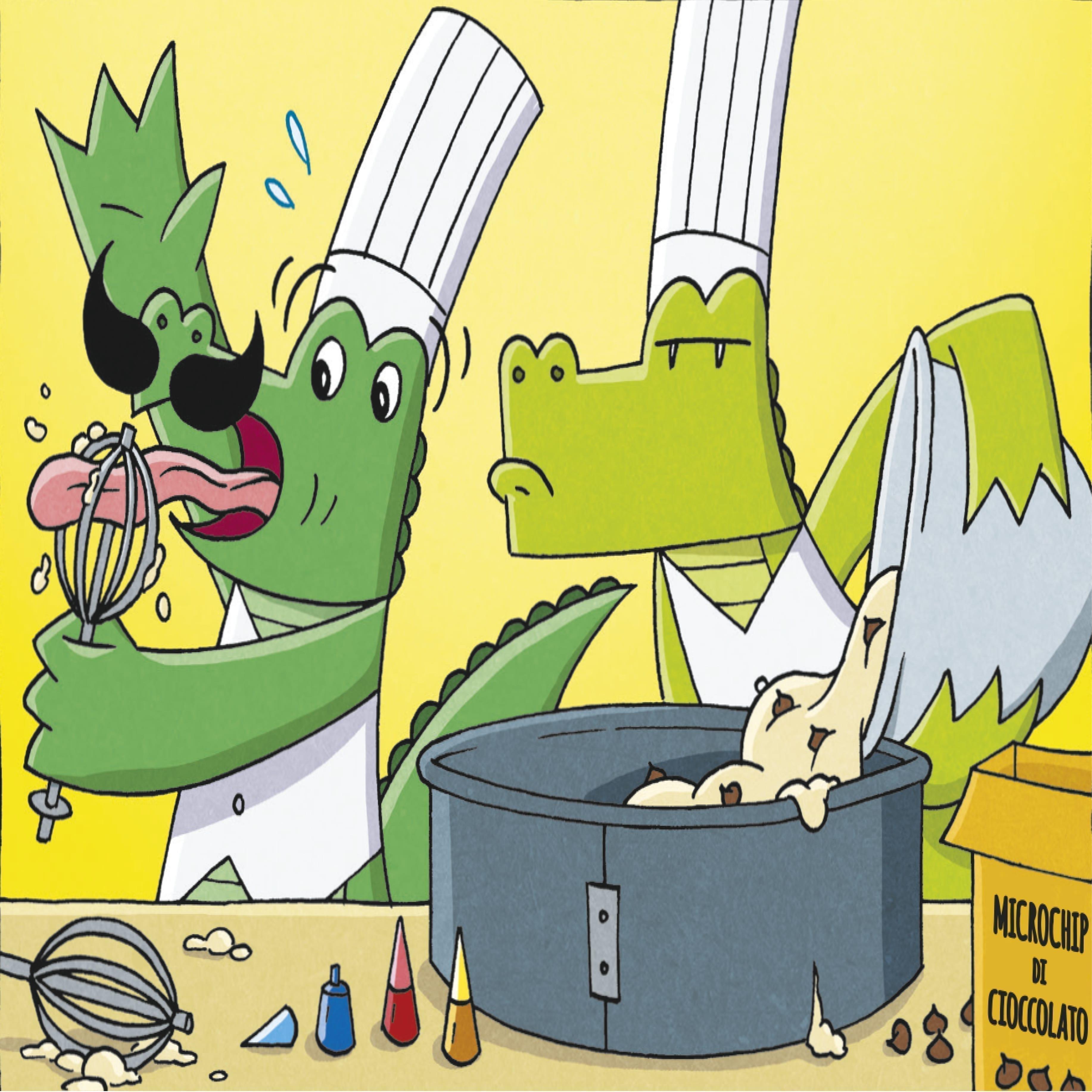 Mango e Sciallo i due protagonisti di InvestiGators, i nuovi fumetti divertenti della Tunué