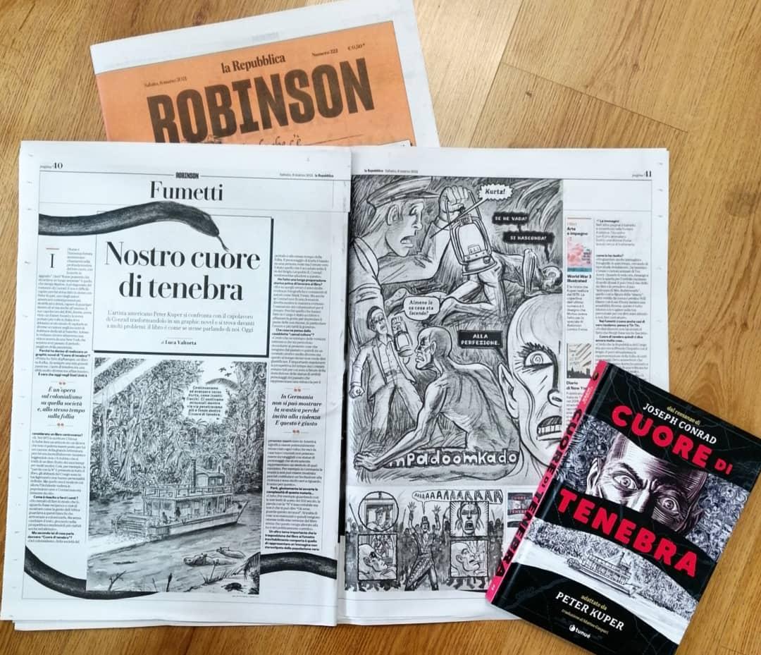Robinson: Nostro cuore di tenebra