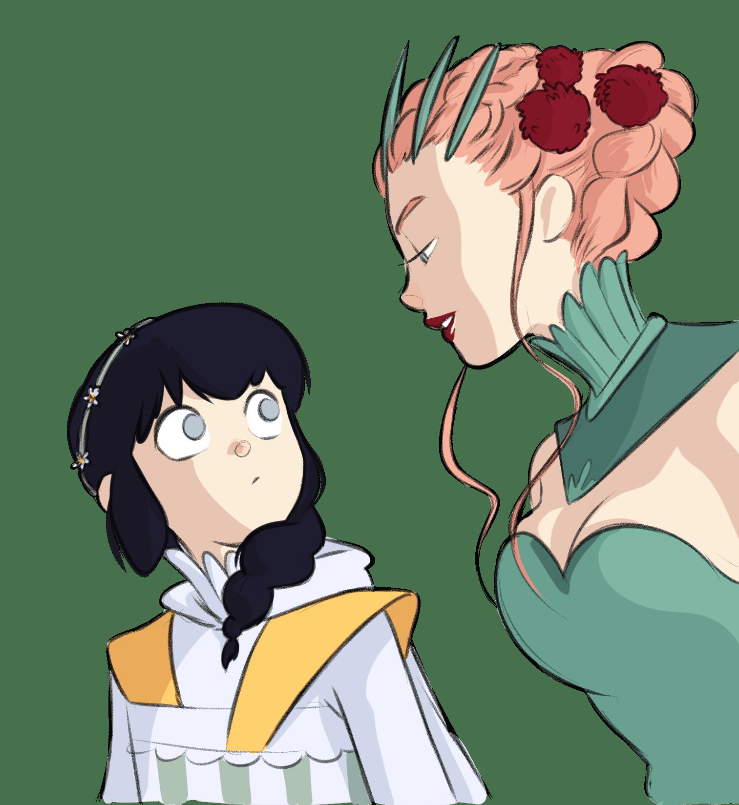 Daisy e la maschera spezzata personaggi