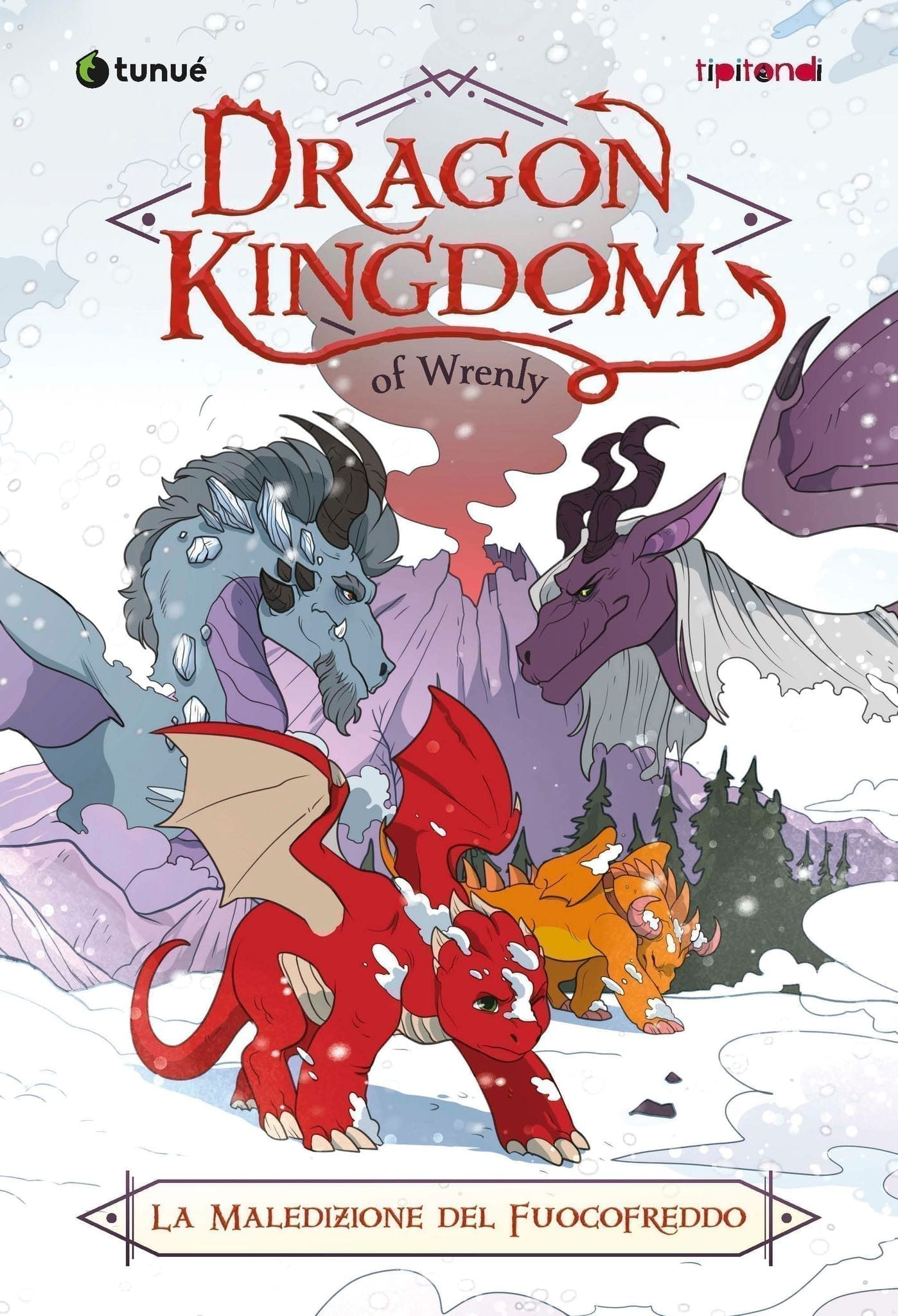 Dragon Kingdom La Maledizione del fuoco freddo