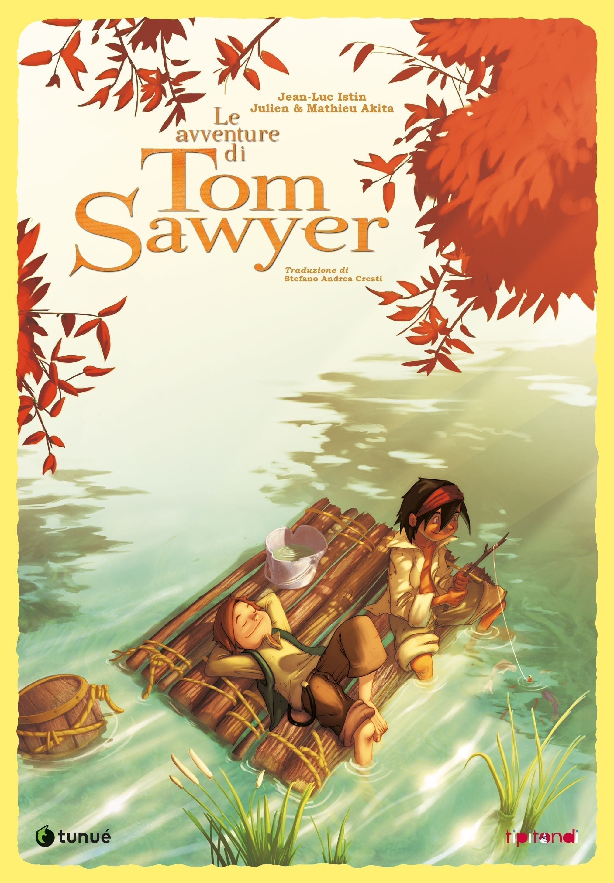 tom sawyer graphic novel tipitondi cover