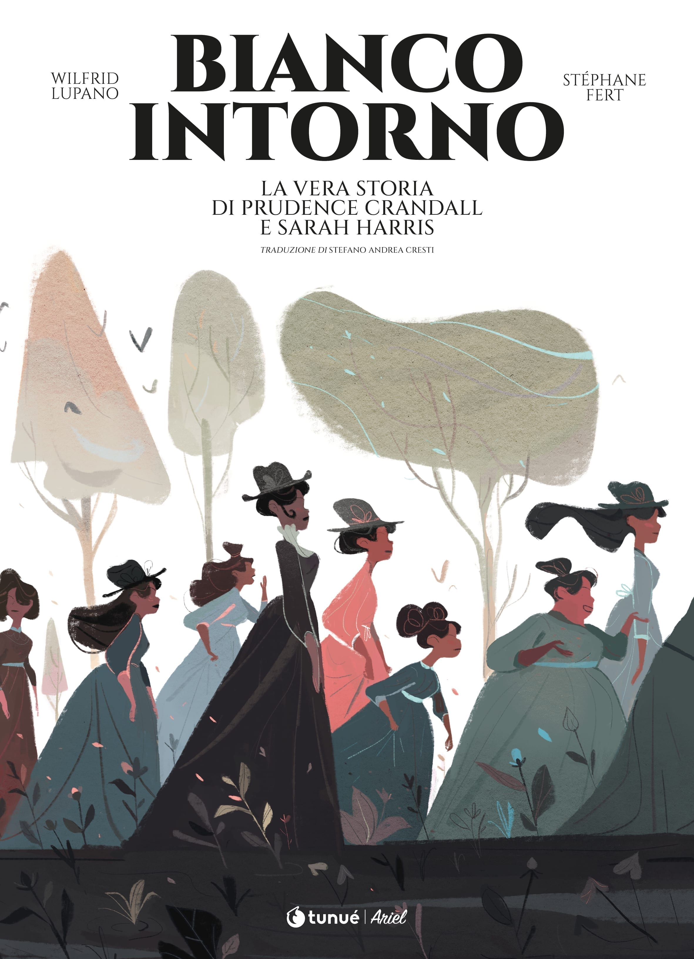 Bianco Intorno Cover Wilfrid Lupano Stéphane Fert