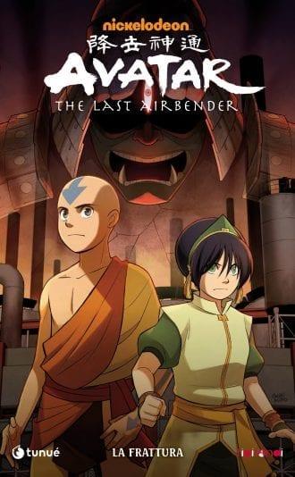 Avatar The Last Airbender La Frattura graphic novel
