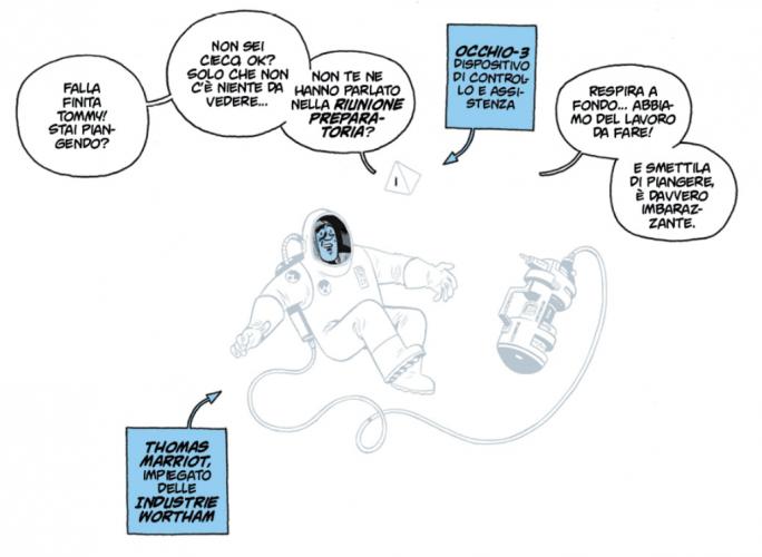 universo preview graphic novel