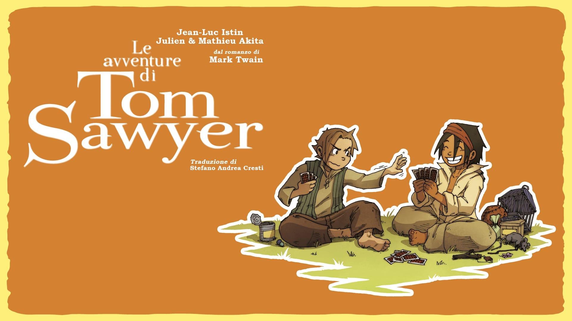 Le avventure di Tom Sawyer graphic novel ragazzi