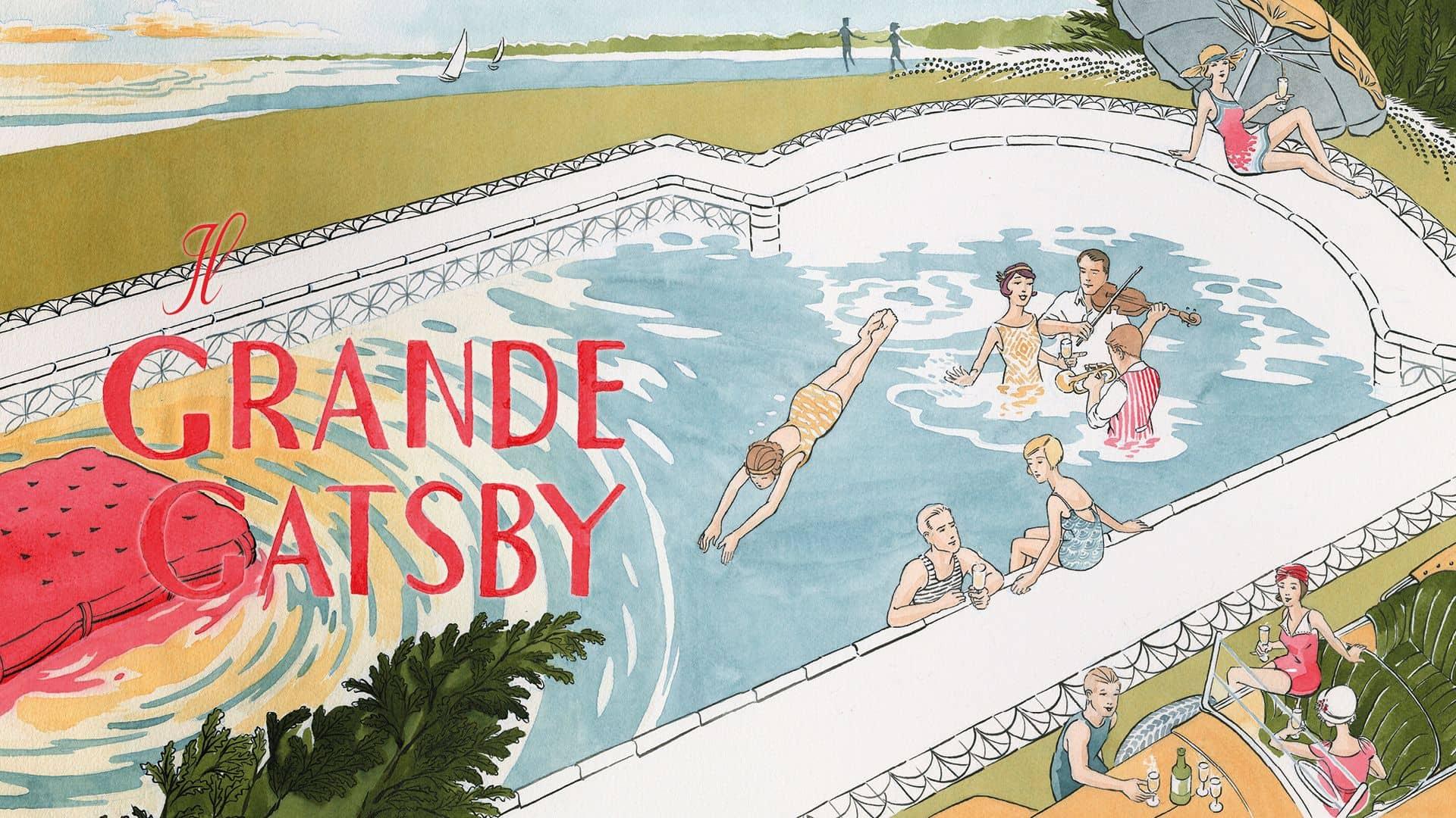 Il grande Gatsby Francis Scott Fitzgerald adattamento a fumetti graphic novel aya morton