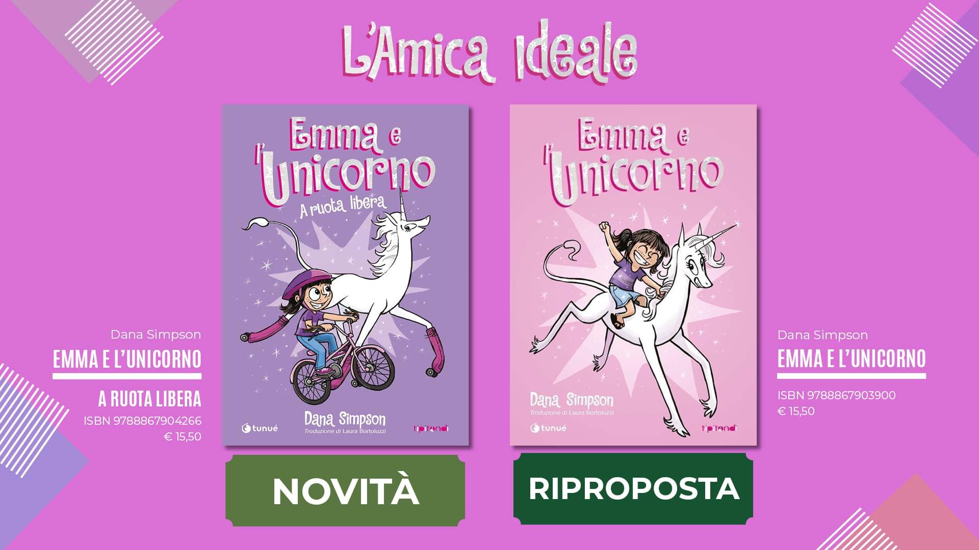 Emma e l'Unicorno con glitter