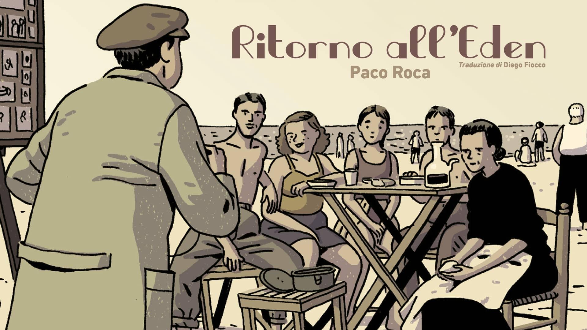 Ritorno all'Eden di Paco Roca famiglia memoria mamma